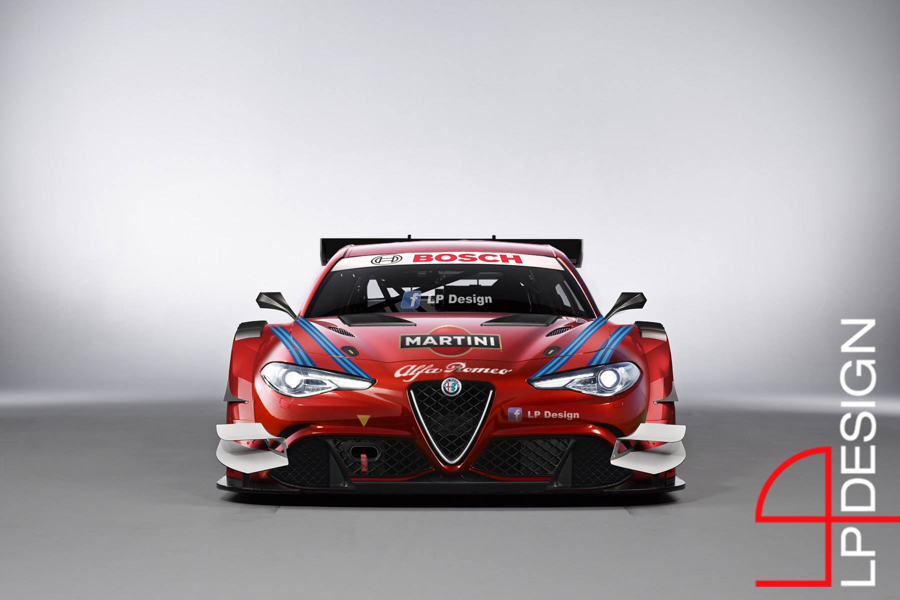 Alfa Romeo Giulia Receives DTM Racing Suit The Beauty