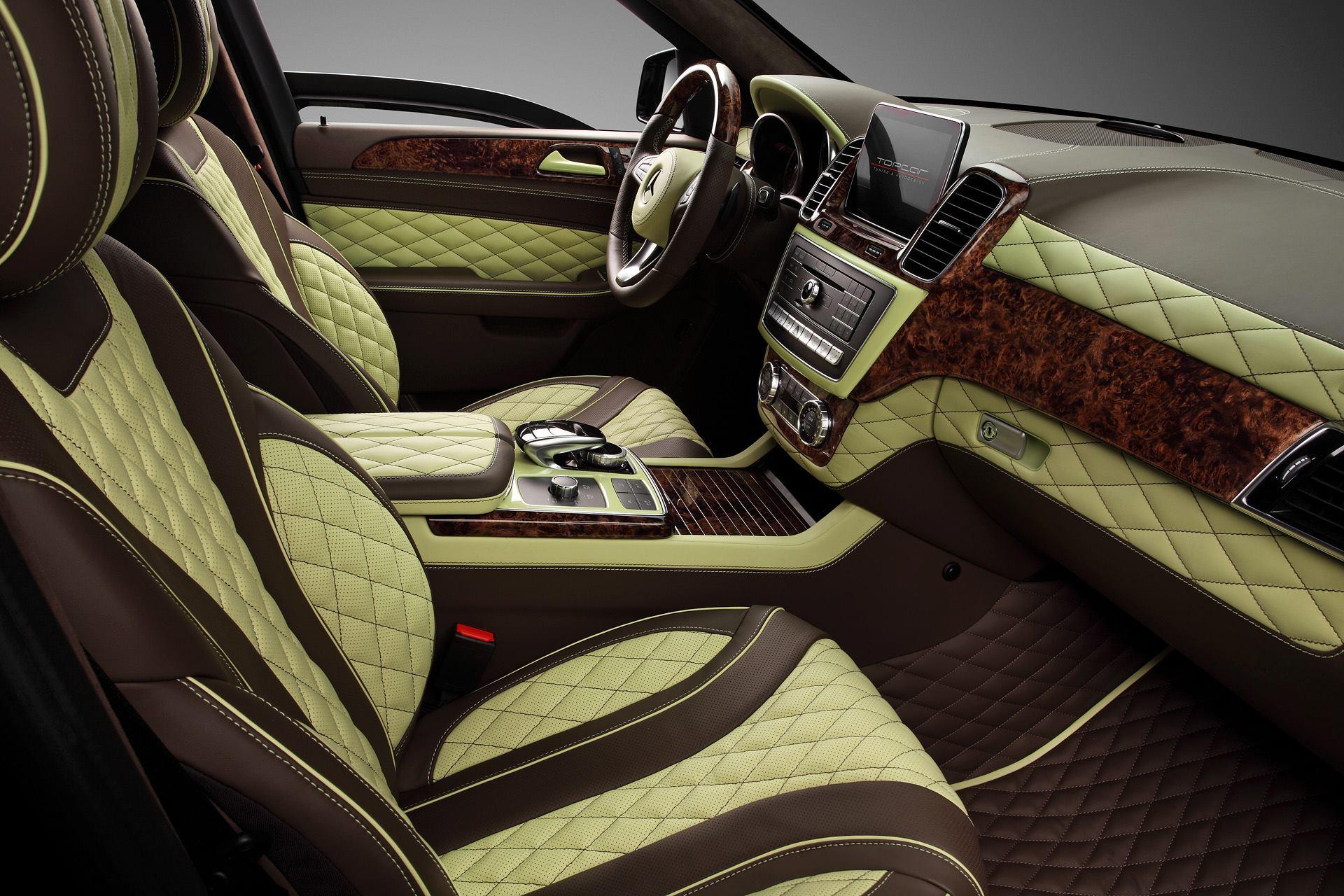 Armored Mercedes GLE Gets TopCar Inferno Custom Interior
