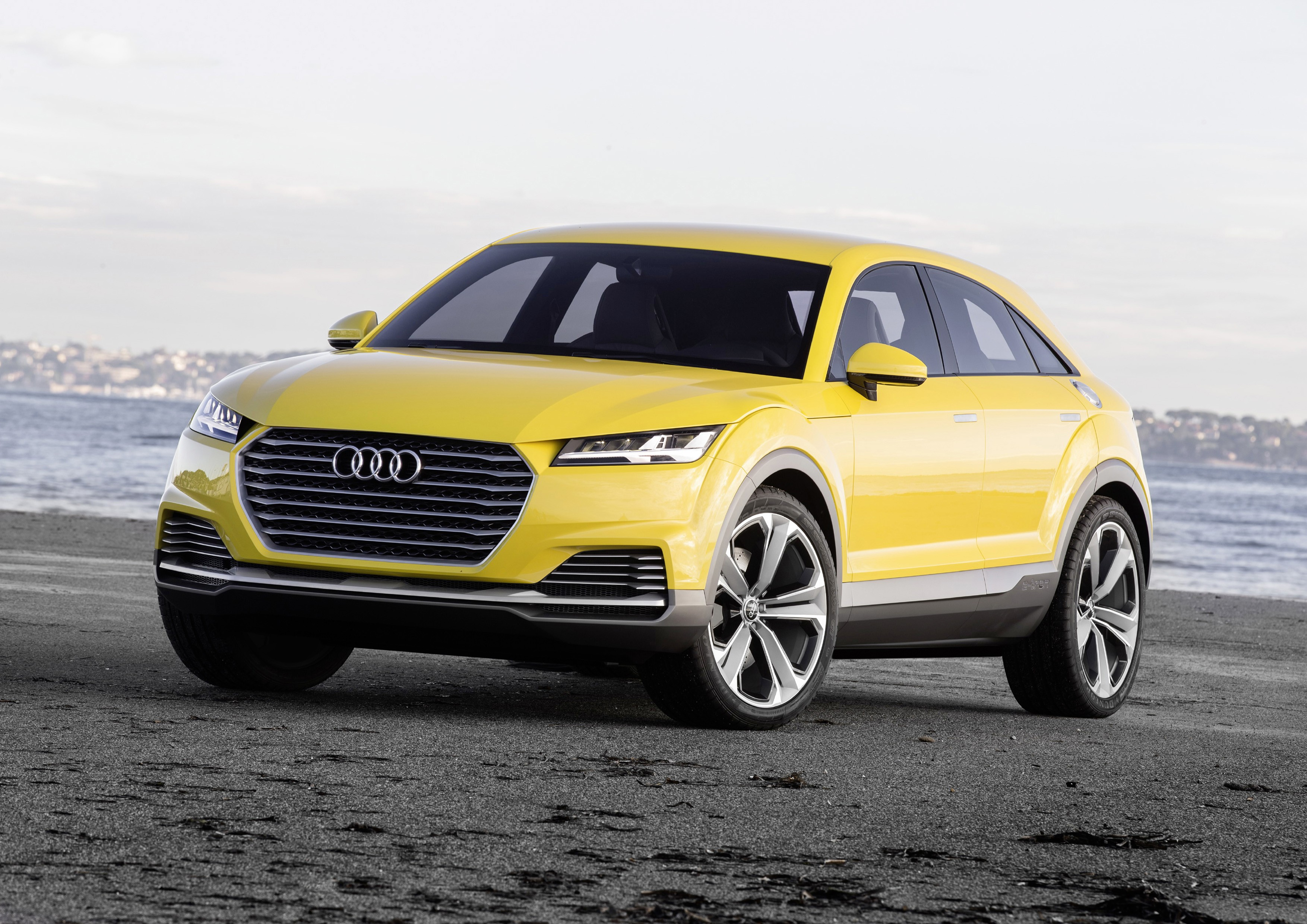2017 Audi TTQ Rendered Autoevolution