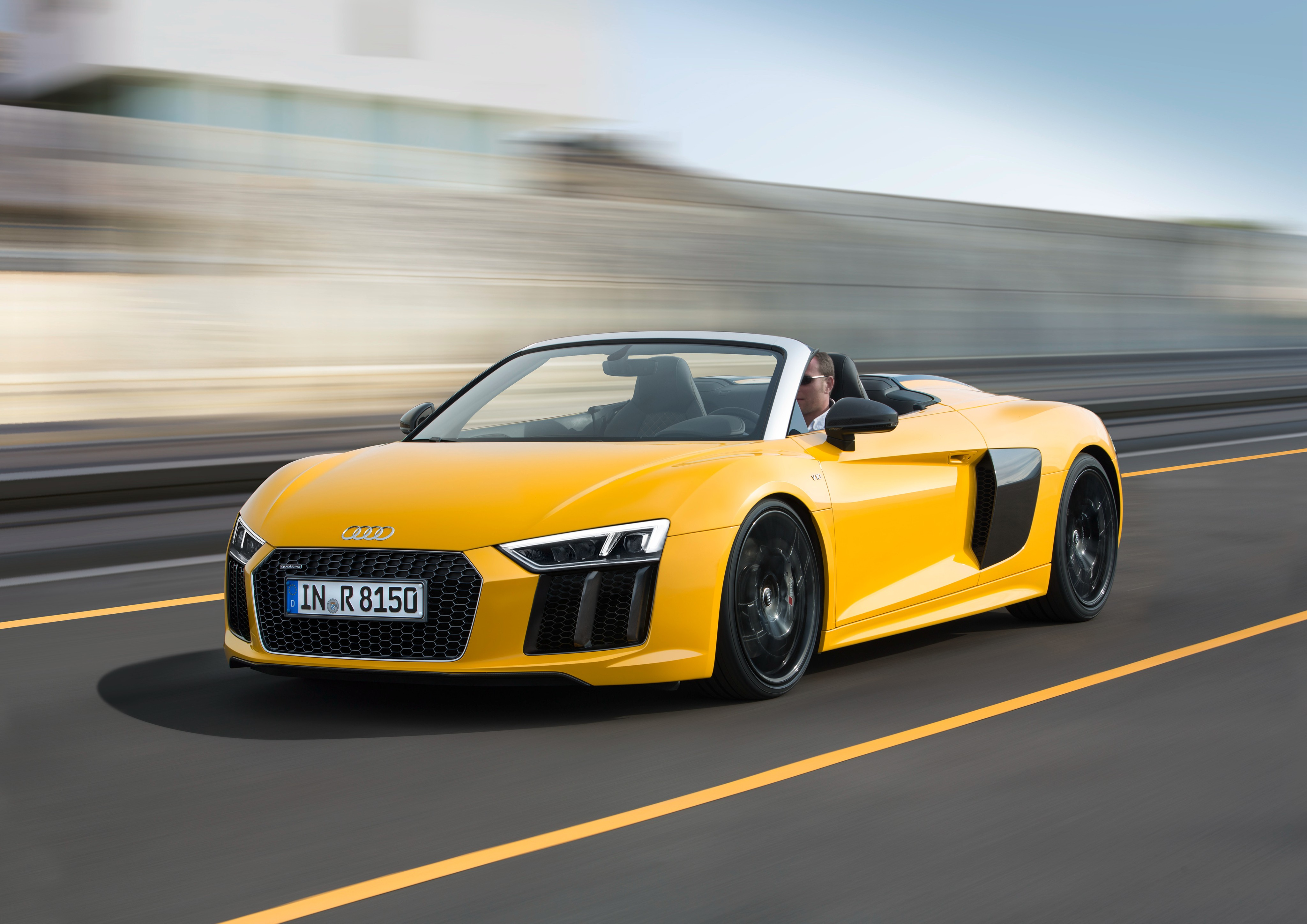 2017 Audi R8 Spyder Price Set From €179,000 in Germany - autoevolution