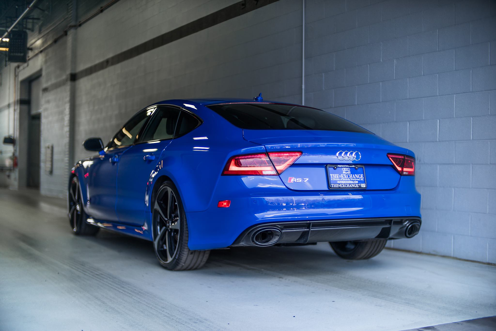 Informieren sie sich hier über die verschiedenen modelle oder starten sie direkt mit der konfiguration. Audi RS7 Triplets: Nagoro Blue, Estoril Blue and Sepang