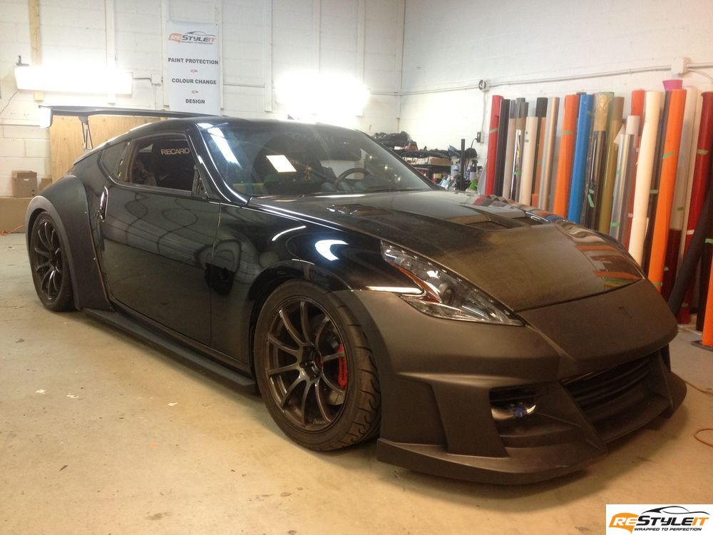 Awesome Nissan 370Z Wrapped By Restyle It Autoevolution