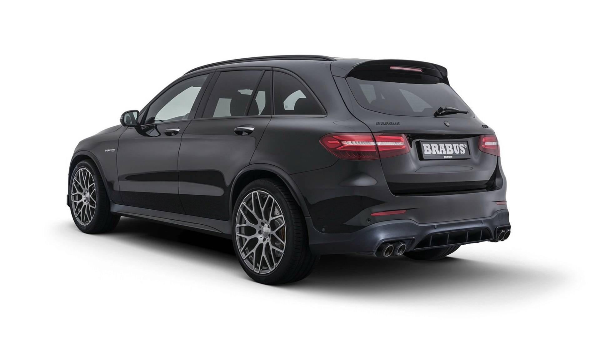 Brabus Reveals 600 HP Mercedes AMG GLC 63 S Autoevolution