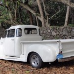 Bride S Dress 1953 Chevy 3100 Should Have Been A Rat Rod Packs Insane Hardware Autoevolution