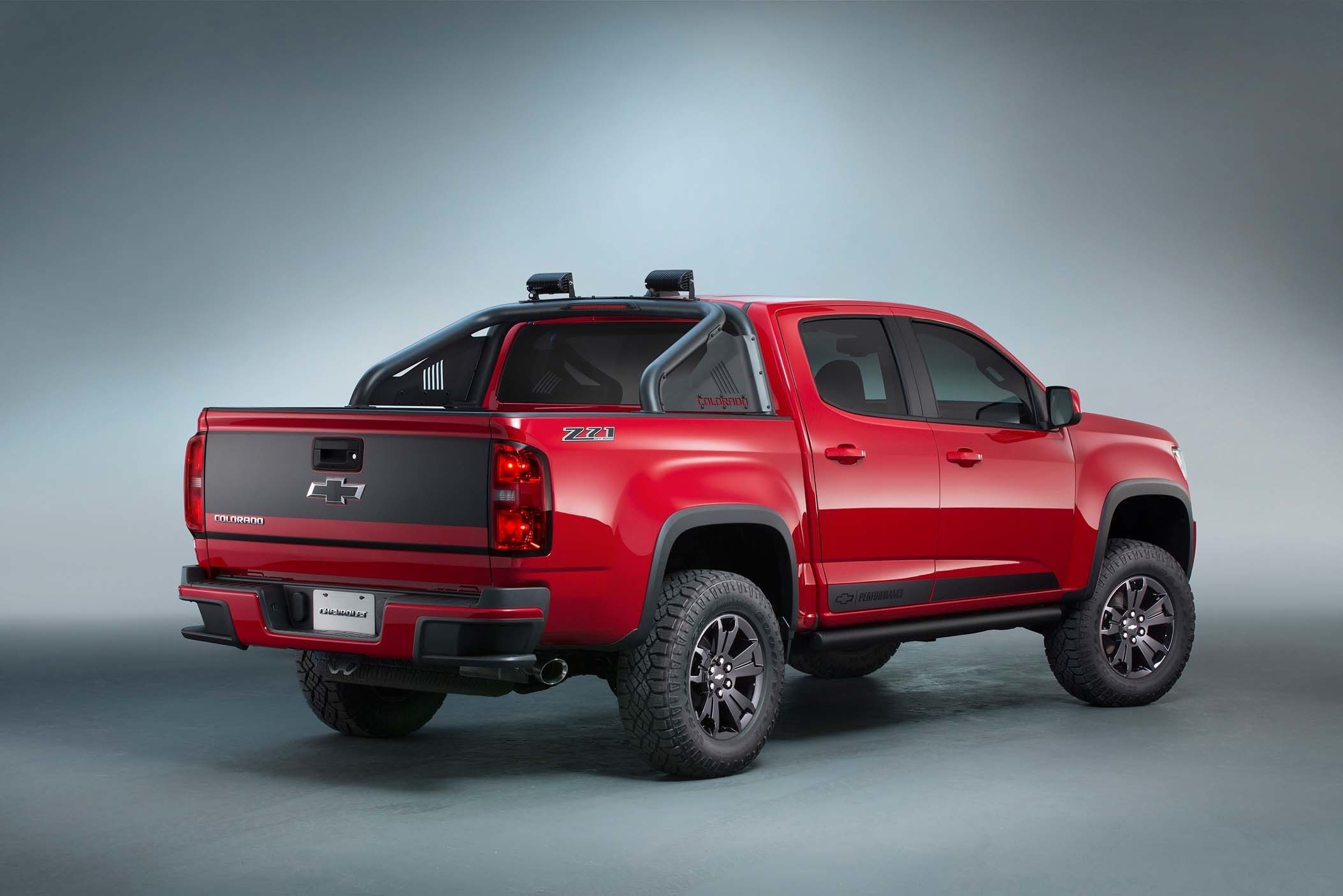 Chevrolet Colorado Z71 Trail Boss 3 0 Concept Is A Ford F