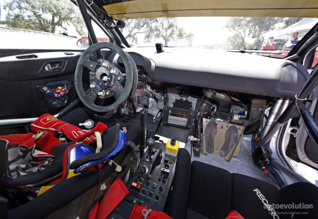 Citroen C4 WRC HYbrid4 Official Test And Photos