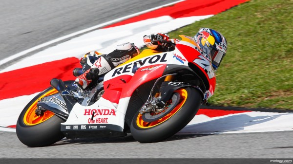 Dani Pedrosa Leads Friday Practice at Sepang after FP2