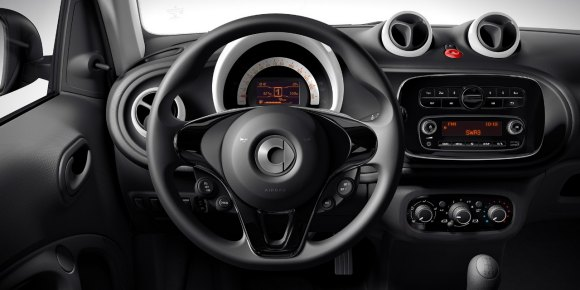 Entry Level 2015 Smart Fortwo And Forfour Launched In