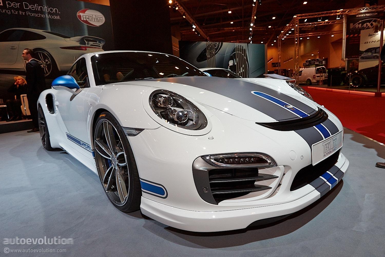 Essen 2013 TechArt Porsche 911 Turbo Live Photos