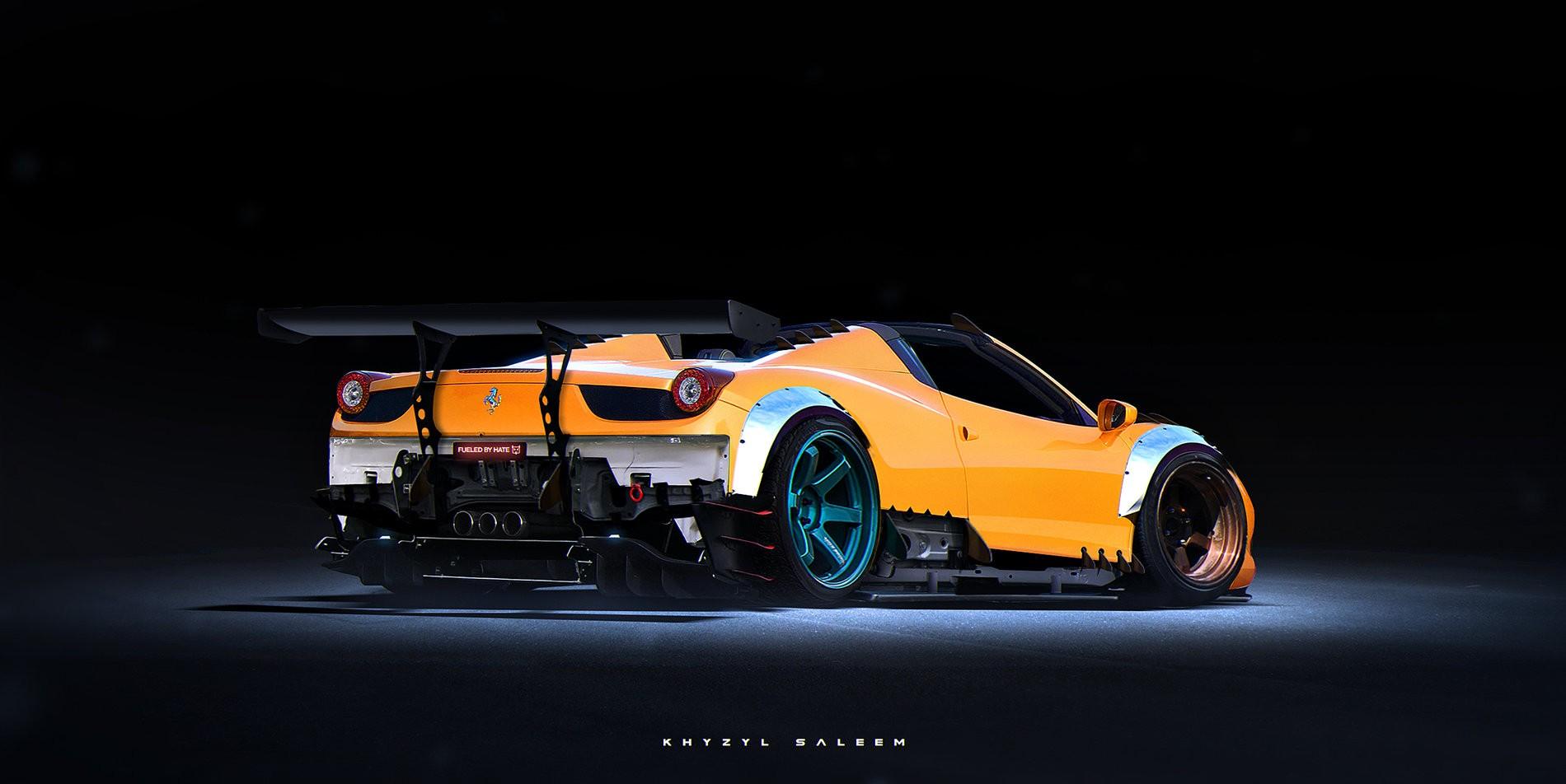 Ferraris Lamborghinis And Mclarens Rendered As