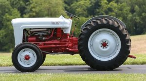 Ford NAA Tractor is an Agricultural Tool with Golden Jubilee Badging – Photo Gallery  autoevolution
