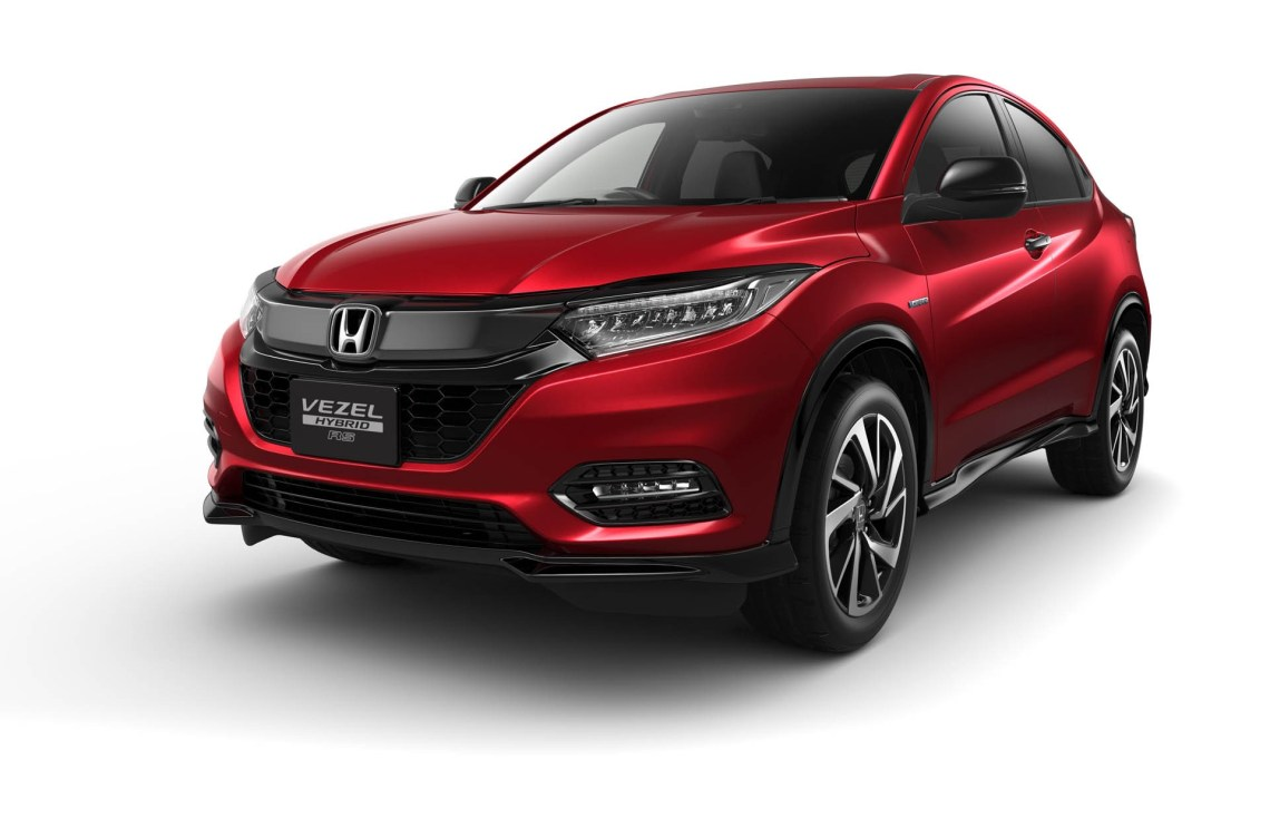 2019 honda hr-v facelift launched in japan as new vezel - autoevolution