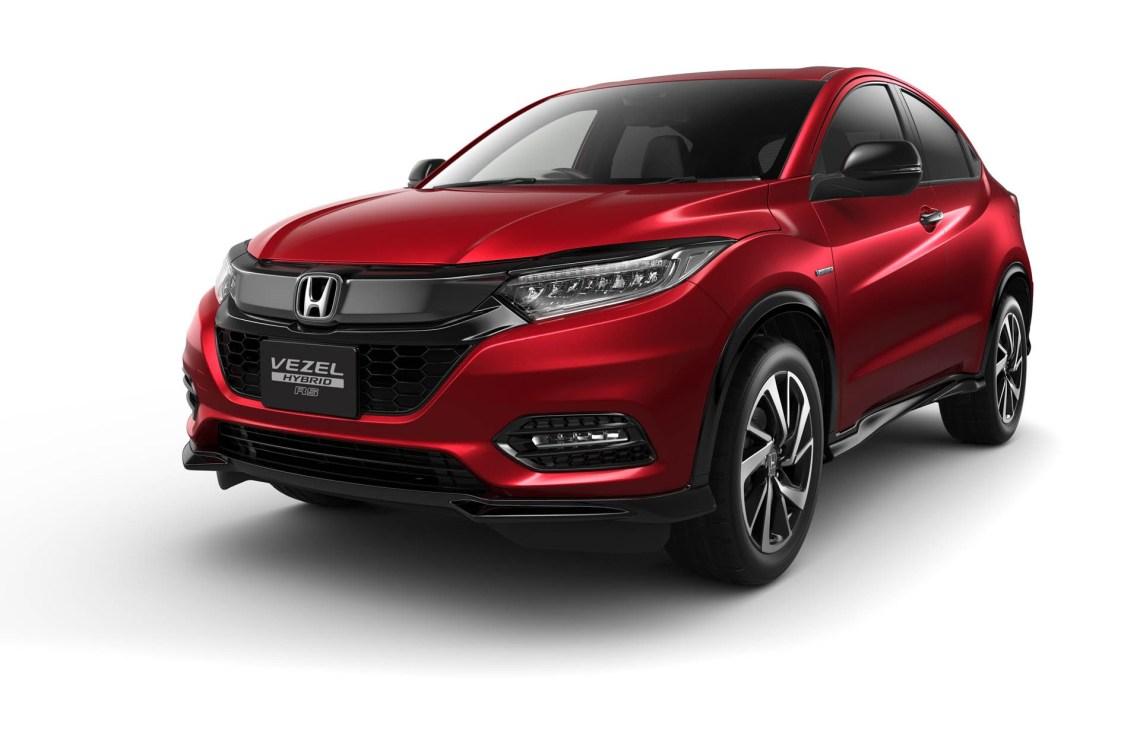 2019 honda hr-v facelift launched in japan as new vezel - autoevolution