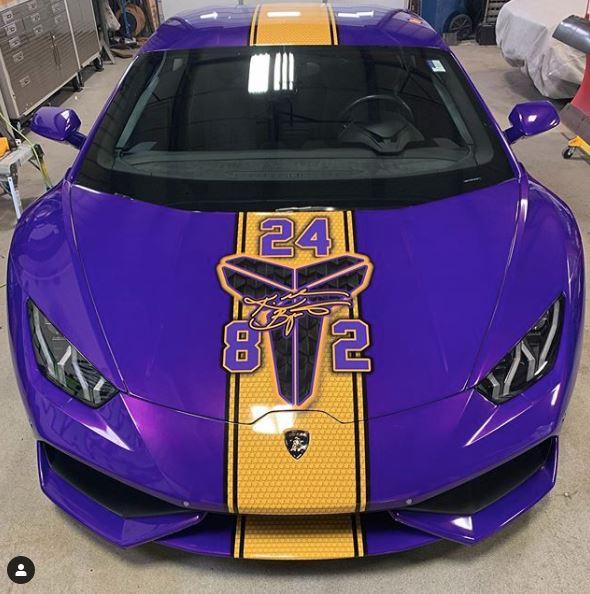 Lamborghini Huracan Gets Kobe Bryant Custom Wrap, Becomes ...