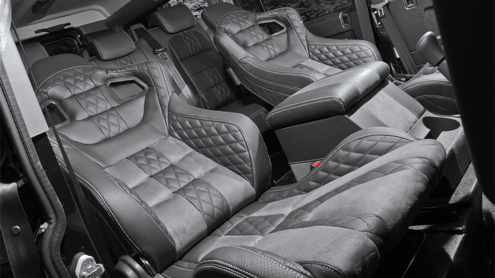 Land Rover Defender 7 Seater Gets Kahn Custom Touch