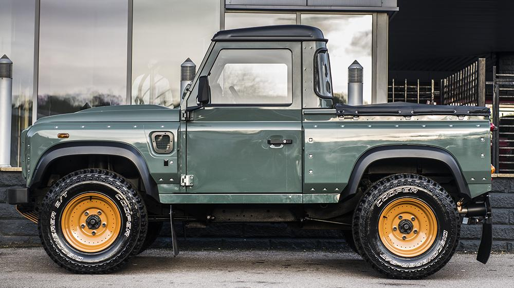 Land Rover Defender Pickup Customized By Kahn Design Autoevolution