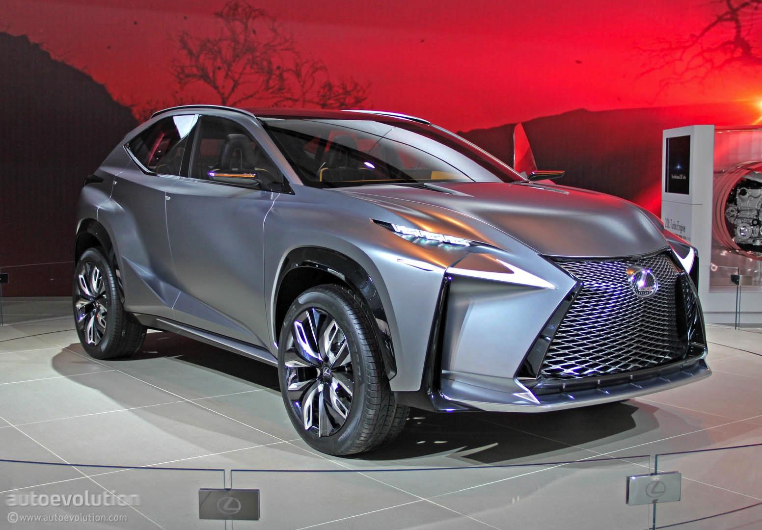 Lexus LF NX Turbo Concept Lands In Detroit Live Photos
