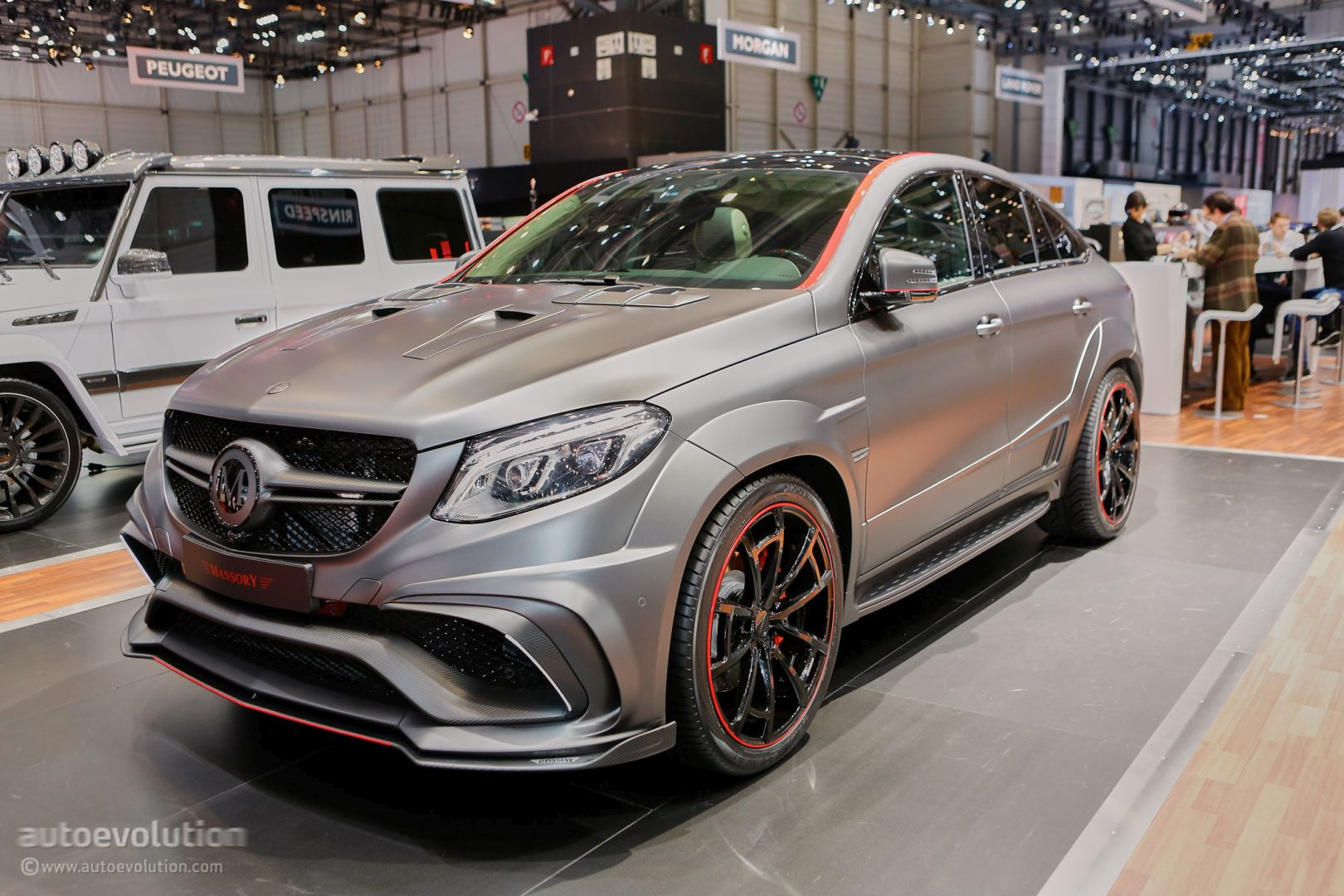 Mansorys Mercedes AMG Geneva Booth Sees GLE63 Coupe