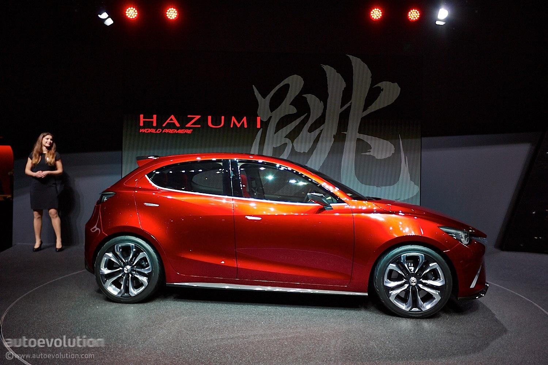 Mazda Hazumi Previews Sexy New 2 Demio Supermini In