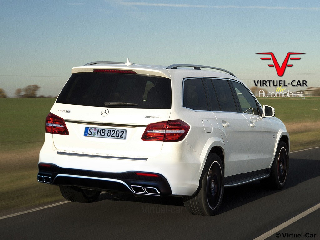 Mercedes AMG GLS 63 S Rendering Reveals The GLs Major