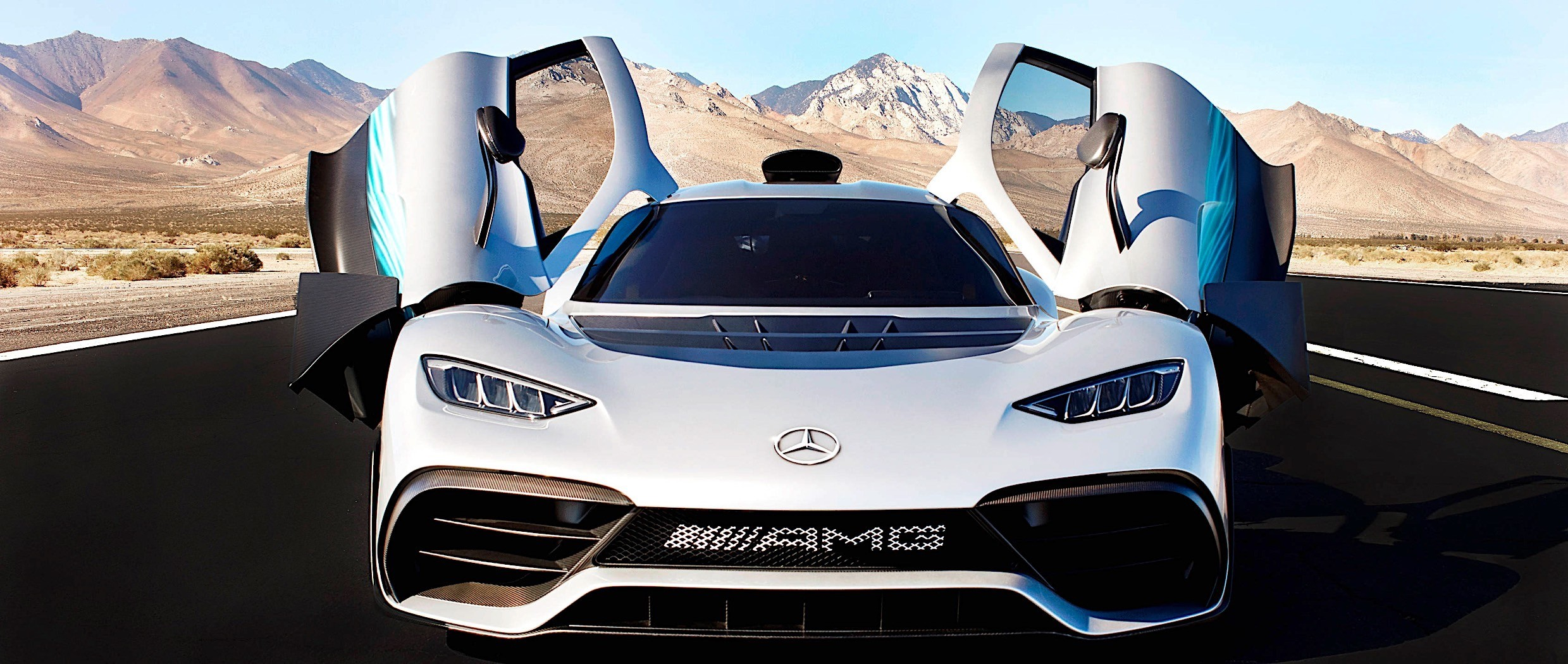 Mercedes AMG Project One Shines In New Wallpaper Gallery