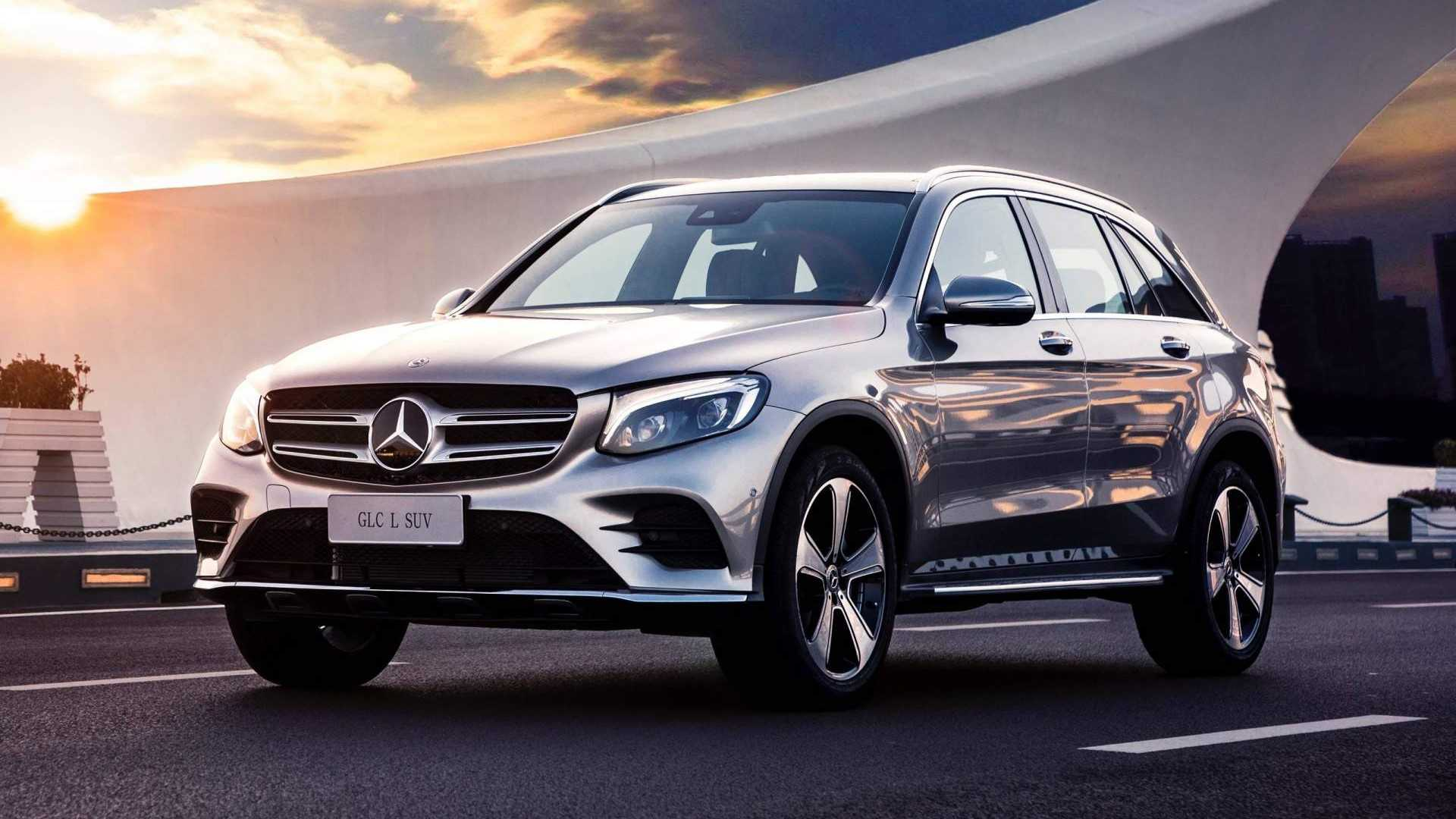 Mercedes Benz Launches Long Wheelbase GLC L In China