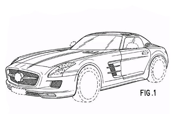 Mercedes SLS AMG Roadster Revealed By Drawings Autoevolution