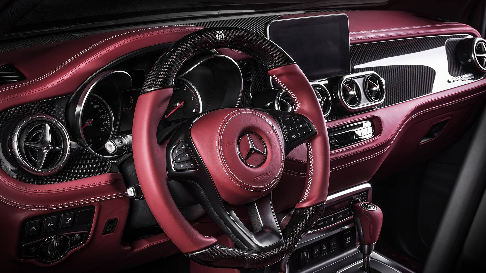 Mercedes X Class Gets Pickup Design Body Kit And Carlex