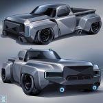 Modern Chevrolet C10 Looks Like The Stepside Truck Gm Needs To Build Autoevolution