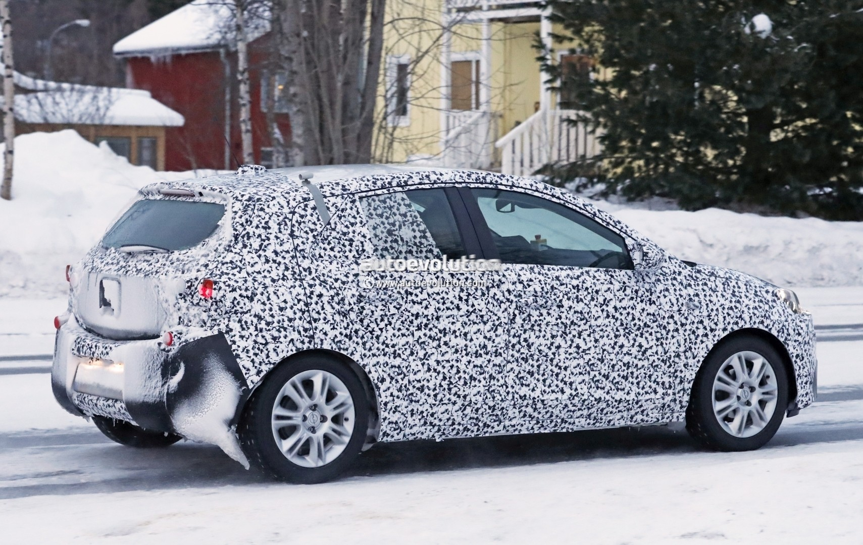New 2019 Opel Corsa Shows Production Headlights In Latest