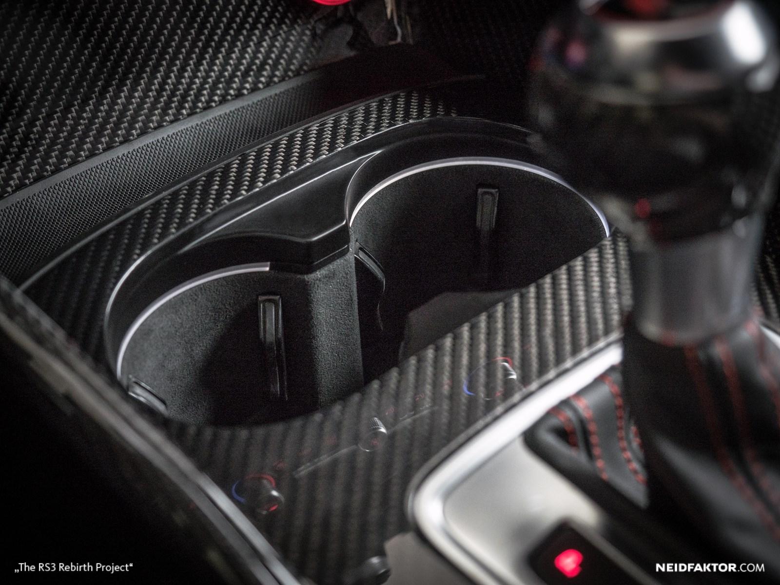New Audi RS3 Gets Carbon Fiber And Alcantara Interior From