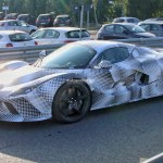 New Ferrari Hypercar Spied With Laferrari Bodywork Features Plug In Hybrid V12 Autoevolution