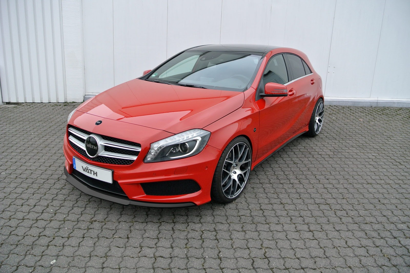 New Mercedes A Class Tuning By Vath A250 Gets 245 Hp