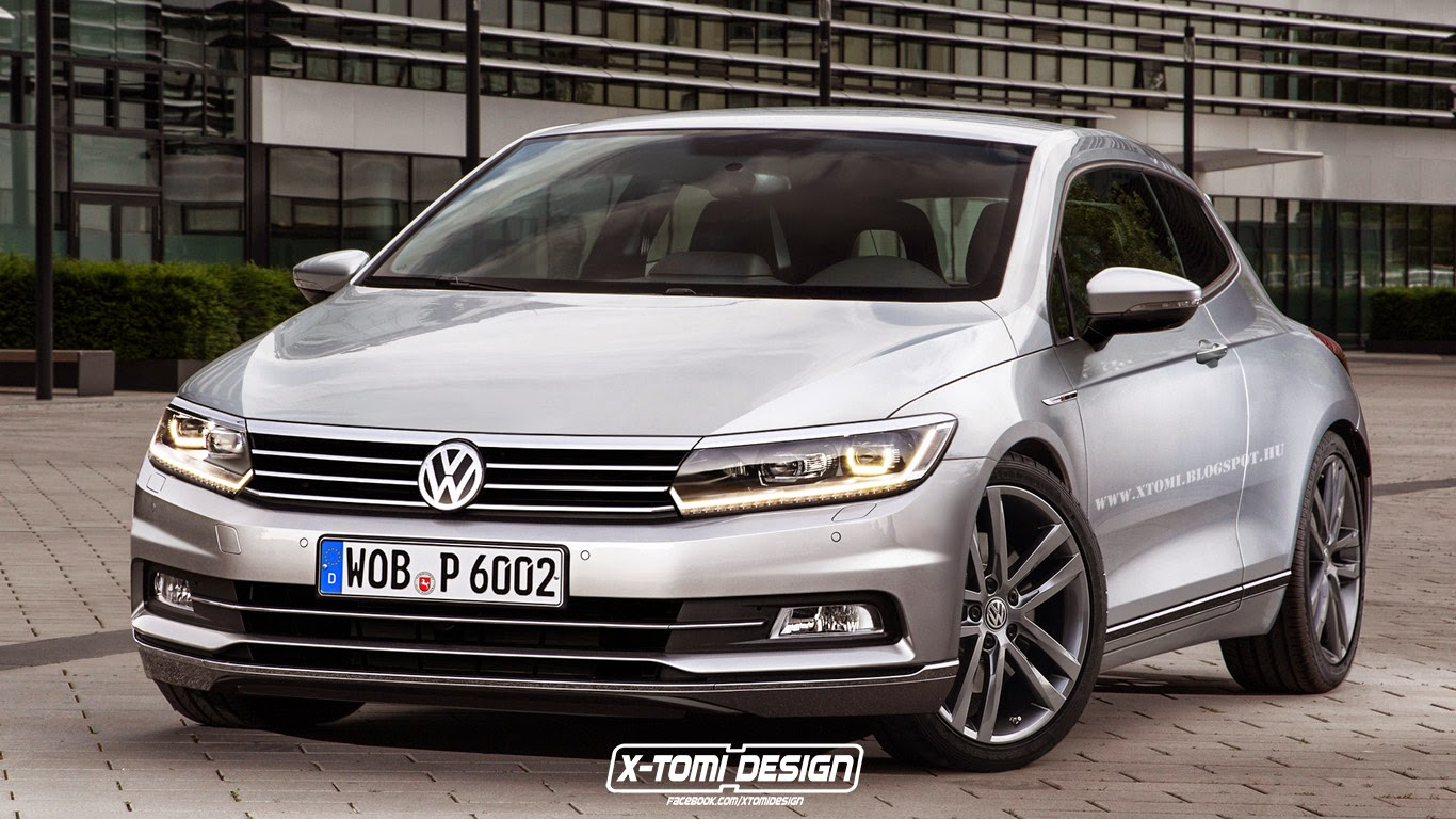 New Volkswagen Scirocco Creatively Imagined With 2015