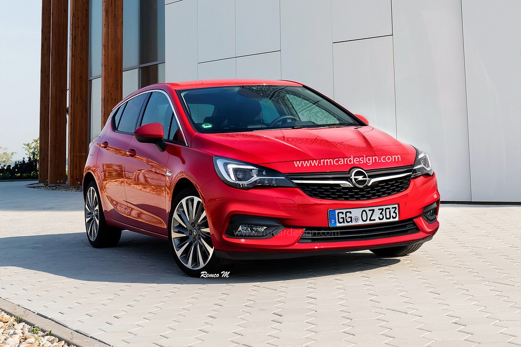 2016 Opel Astra K Sedan Rendered Lighter And More Stylish