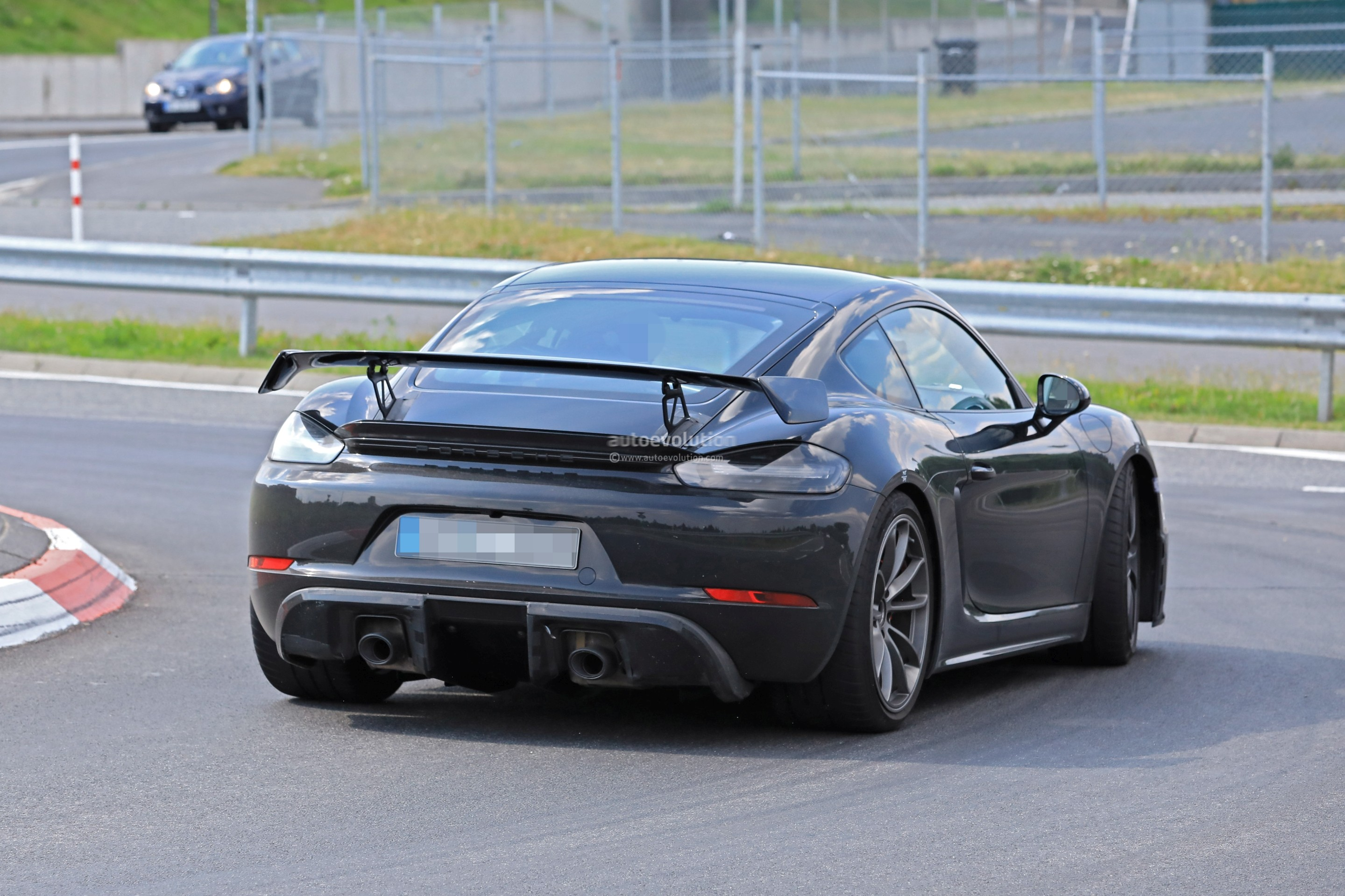 Porsche 718 Cayman Gt4 Spotted In Traffic Pdk Rumors Grow