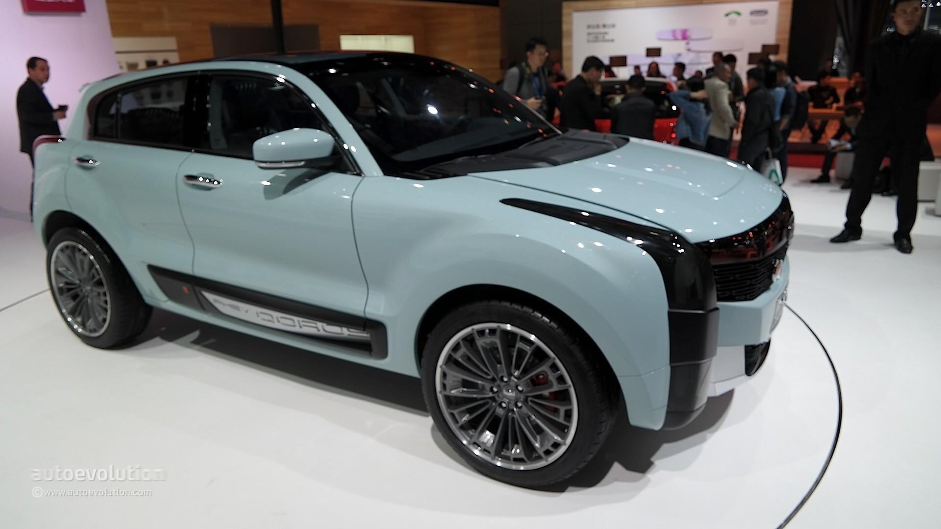 Qoros 2 Hybrid Crossover Concept Resembles A Cadillac