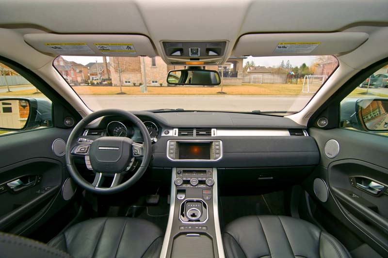 Range Rover Evoque Coupe Vs MINI Paceman Comparison Test