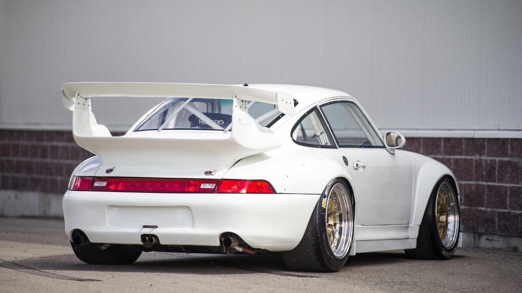 Rare Porsche 993 GT2 Evo Going Under The Hammer