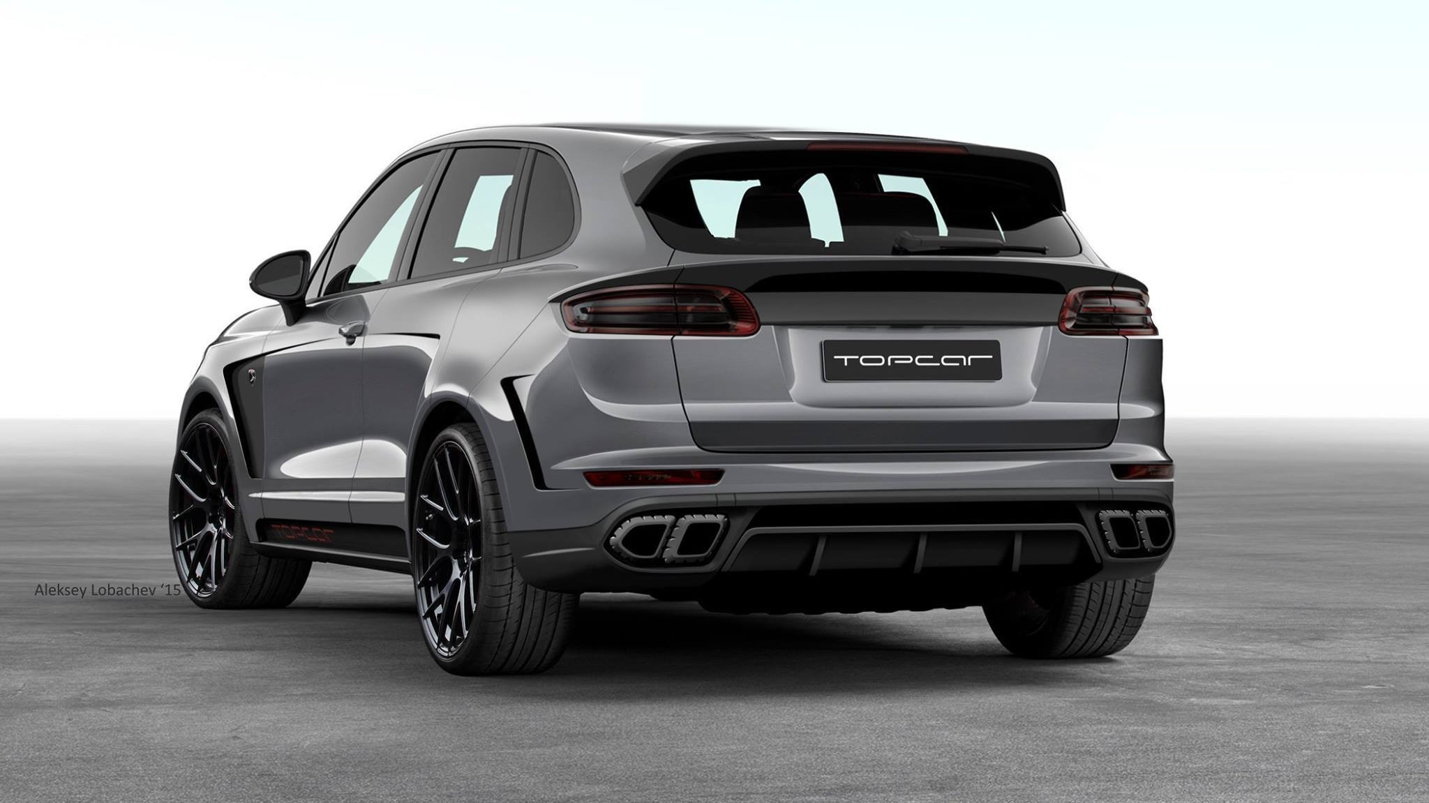 Russian Porsche Cayenne Tuning Project Adds 911 Headlights