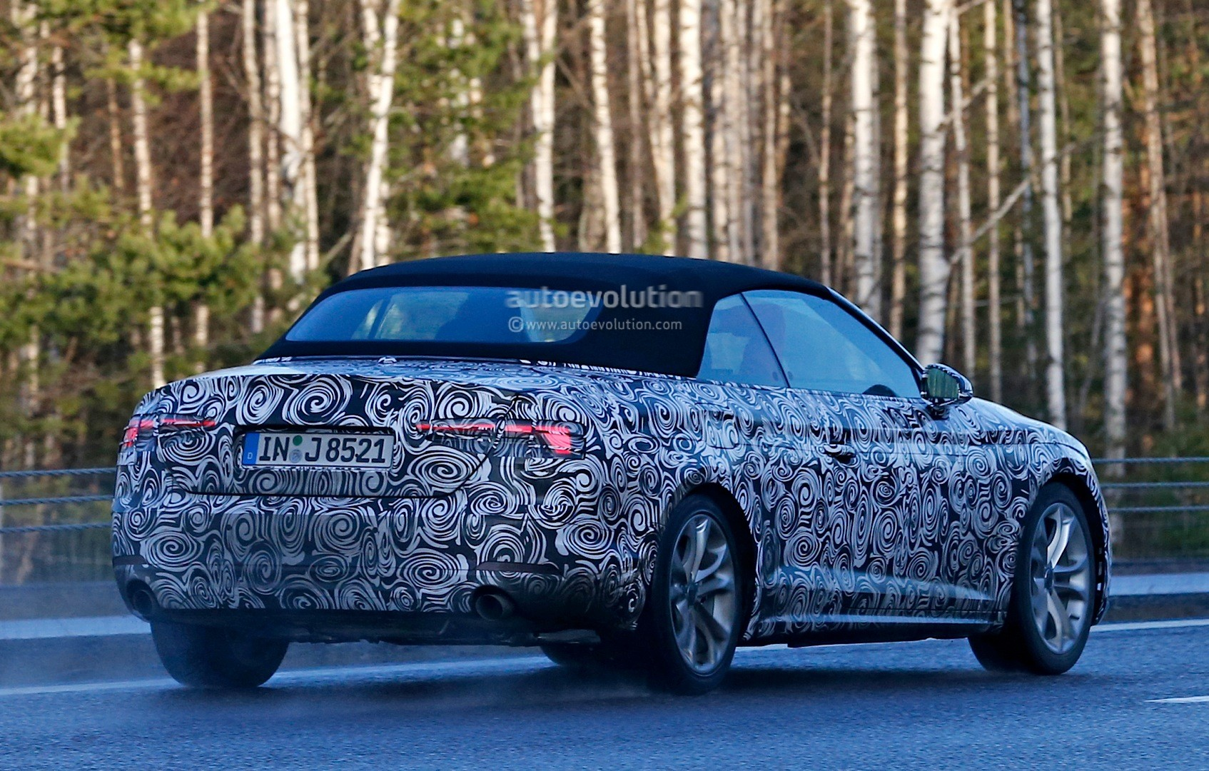 Spyshots 2017 Audi A5 Cabriolet Spied For The First Time