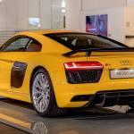 Vegas Yellow 2016 Audi R8 V10 Plus Arrives At Audi Forum Neckarsulm Autoevolution
