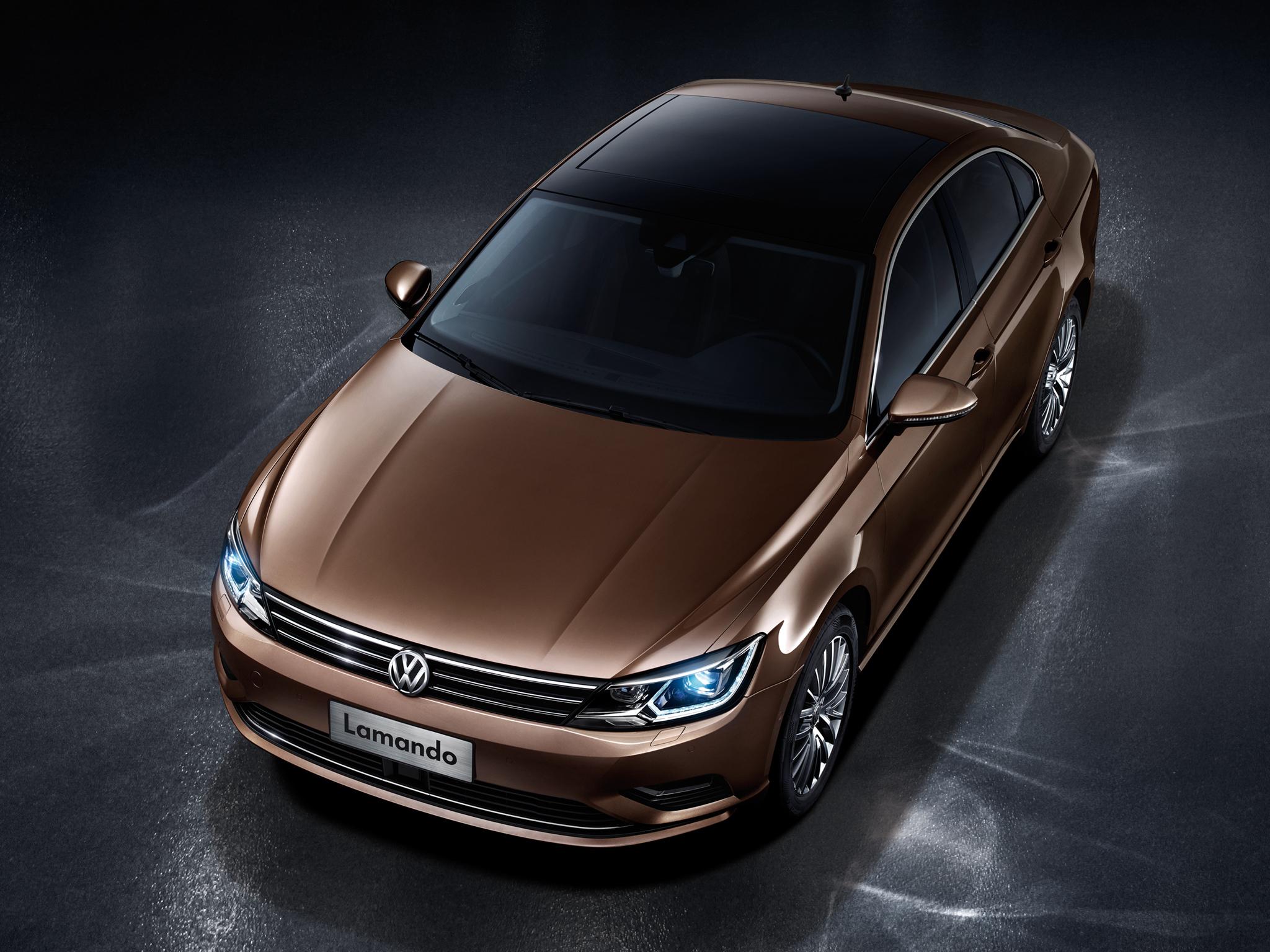 Volkswagen Lamando Four Door Coupe Officially Revealed In