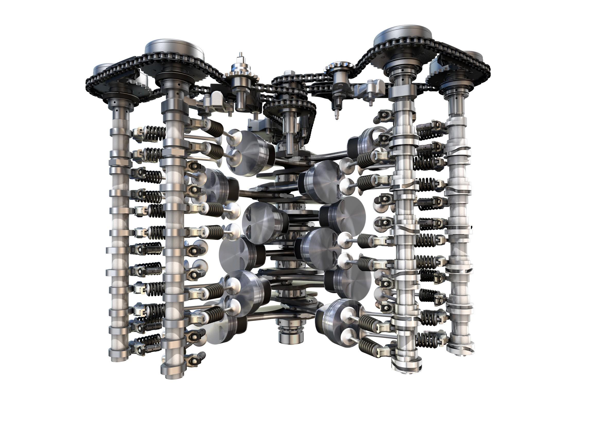 Volkswagen Unveils New 6 Liter W12 Tsi Twin Turbo Engine