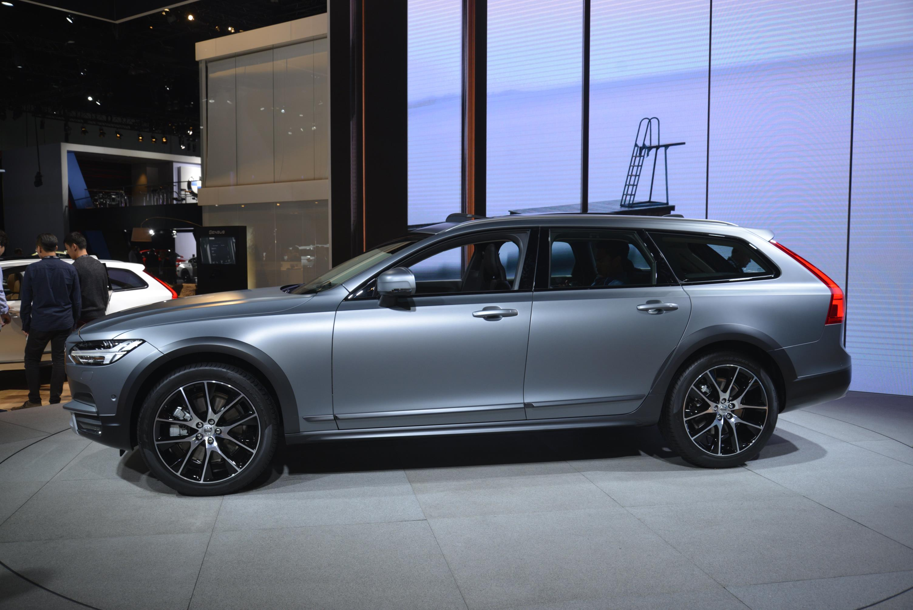 2017 Volvo V90 Cross Country Pickup Truck A Rendering For