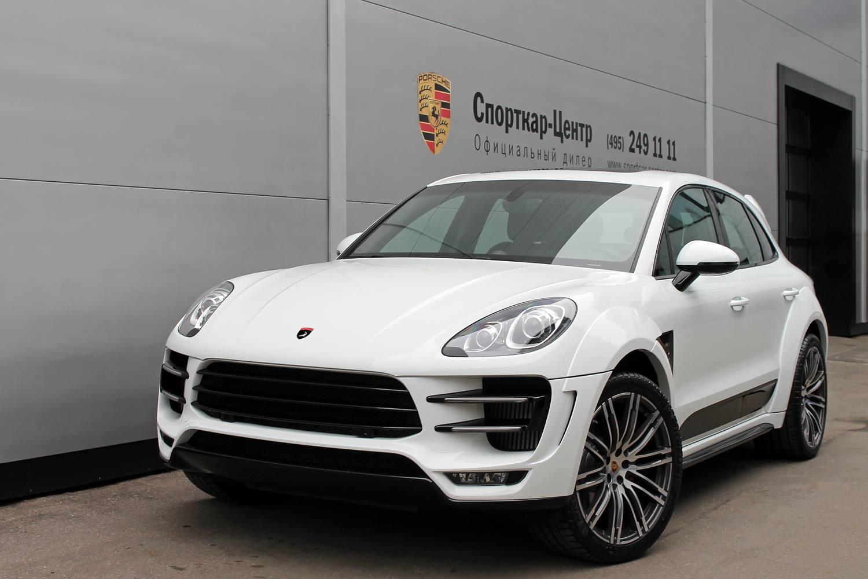 White Porsche Macan Ursa By Topcar For Sale Autoevolution