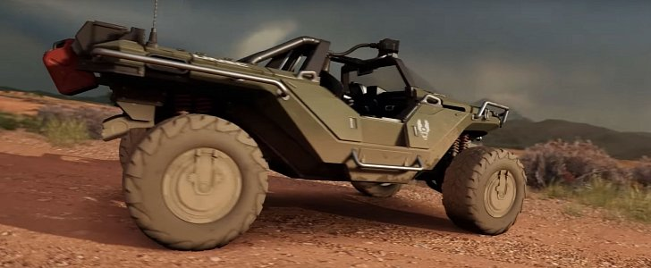 Halos Warthog Is Coming To Forza Horizon 3 Autoevolution