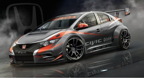 honda civic wtcc hatch