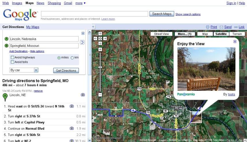 How to Get Driving Directions WITHOUT a GPS   autoevolution Yahoo Maps