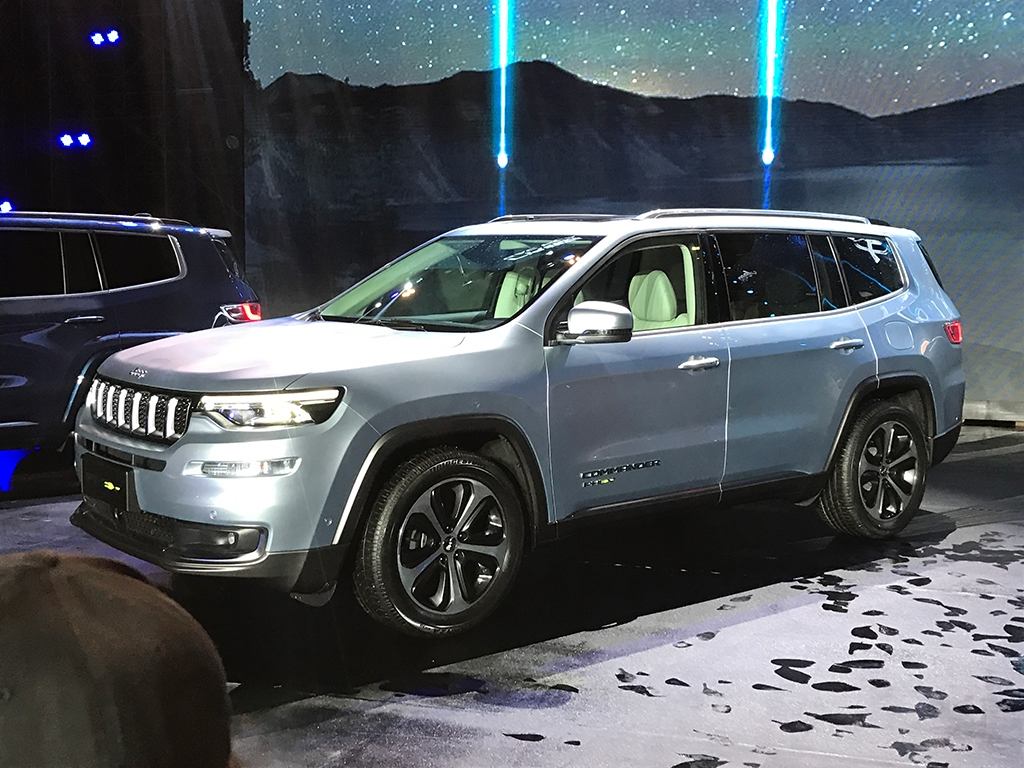 jeep grand commander phev revealed in china, will go on sale in 2019